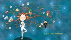 А вы знали, что дети любят йогу? Да! Но какую? Йога для детей, это не превычные комлексы ассан. Показывать детям позы йоги для взрослых бессмыслено. Детская йога должна быть более магкой. А главное, сказочной. Поэтому Мериам Гейт придумала специальные илюстрации йоги для детей. Они... #дети