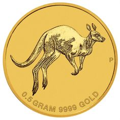 2 Dollar Gold Mini Roo 2017 UN