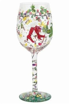 d934f4581e9b Image result for Holiday Painted Wine Glasses