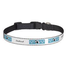 #Keeshond Graphics Pet Collar - #petcollar #petcollars #puppy #dog #dogs #pet #pets #cute #doggie #dogcollar #dogcollars