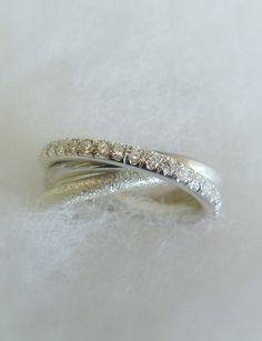 Fine Jewelry Russian Wedding Ring Engagement Ring by Amallias