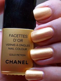 chanel gold fiction