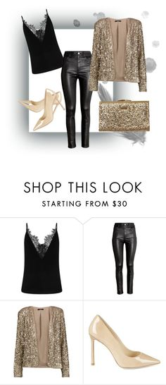 """Untitled #9"" by vanessa-fashion123 ❤ liked on Polyvore featuring H&M, Tart, Jimmy Choo and Element"