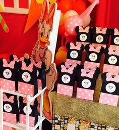 Minnie Mouse Theme Party, Birthday Party Themes, Disney Characters, Fictional Characters, Fantasy Characters