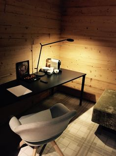 A coffee ?  Featuring the light of the #Demetra Table lamp ► http://bit.ly/Demetra-T #design Naoto Fukasawa
