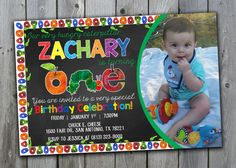 Very Hungry Caterpillar Invitations Very by PerfectPrintableCo