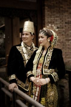 Traditional Clothing (Wedding dress) from Solo, Central Java