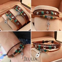 Fashion bracelets for the lovers !!! #jeulia #bracelets #fashionjewelry.