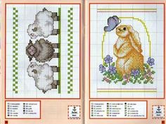 Cross stitch sheep | Sheep, bunny | Cross Stitch Patterns