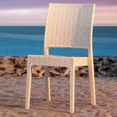 Found it at AllModern - Siesta Florida Stacking Dining Side Chair
