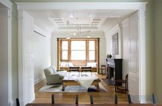 Brownstone living room