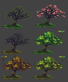 City Design show us some of your pixel work Get the Most Value from Your Roof Insulation The basic g Arte 8 Bits, Pixel Life, Pixel Art Background, Concept Art Tutorial, 8bit Art, Pixel Art Games, Pixel Design, Tree Art, Game Design