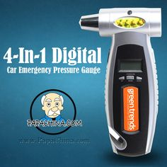 Using a 4-In-1 Digital Car Emergency Pressure Gauge is perfect for your direct marketing campaign. Able to be used for emergency, it will ensure your company brand is received well and will result in better returns on your advertising investment.