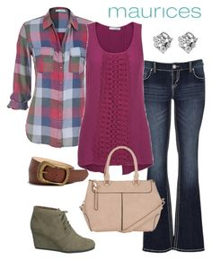 """#OOTD"" by maurices ❤ liked on Polyvore featuring maurices"
