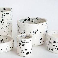 Ceramic vessels by Angela Hodgkinson for OUI