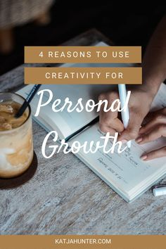 Here are 4 wonderful reasons to use creativity for personal growth. Creativity is personal growth as doing creative work of any kind exposes who you are. These 4 reasons to use creativity for personal growth will get you creating.  Read the post by clicking the link. #creativity #arttherapy