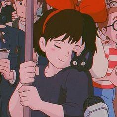 Studio Ghibli Wallpaper, Art Studio Ghibli, Studio Ghibli Movies, Studio Ghibli Characters, Anime Characters, Film Anime, Anime Art, Kiki Delivery, Kiki's Delivery Service