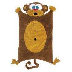 Sozo UnisexBaby Newborn Monkey Cuddle Mat Brown 04T