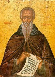 St. John Climacus / Прп. Иоанн Лествичник (Mar 30/Apr 12)