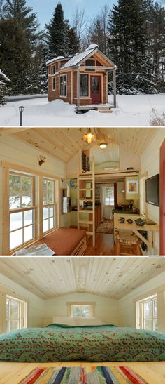 A beautiful Vermont tiny house