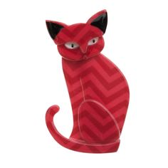 Limited edition Erstwilder Thomas Taffy Cat brooch by Louisa Camille Melbourne $29.95
