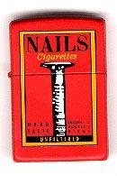 Nails Zippo Lighter