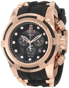 Men's Wrist Watches - Jason Taylor for Invicta Collection 12956 BOLT Zeus Chronograph Grey Carbon Fiber Dial Black Polyurethane Watch ** Be sure to check out this awesome product.