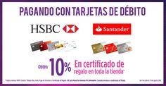 Suburbia: 10% en certificados de regalo con HSBC o Santander