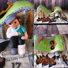 Bmx park cake all handmade no moulds