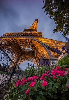 Eiffel in the Summer