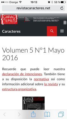 Como contamos al lanzar el volumen 5 n. 1 de esta revista, correspondiente a mayo de 2016, considerábamos que había llegado el momento de cambiar el diseño de la edición en PDF de Caracteres. Estud…