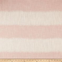 Justina Blakeney Passagio Jacquard Blush from Designed by Justina Blakeney, founder of The Jungalow™, this very heavyweight jacquard is perfect for pillows and upholstery projects. Colors include blush pink and cream. Striped Upholstery Fabric, Upholstery Fabrics, Striped Fabrics, Pink Fabric, Justina Blakeney, Wide Stripes, Toss Pillows, Outdoor Fabric, Girl Nursery