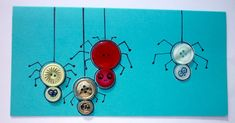 P1190274 Creations, Bracelet, Card Making, Buttons, Children, Bangle, Armband, Bracelets