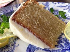 Key Lime Poundcake with Key Lime Cream Cheese Icing Recipe