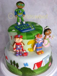 Inspired Photo of Super Why Birthday Cake Super Why Birthday Cake Melanie Holley Super Why Cake Idea 2 Kids Birthday Parties Birthday Cake Maker, Sister Birthday Cake, Twin Birthday Cakes, Make Birthday Cake, Themed Birthday Cakes, 1st Birthday Girls, Birthday Ideas, Birthday Parties, Super Why Cake