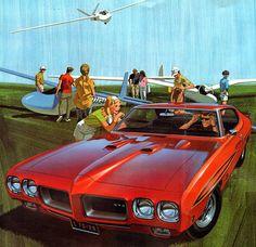 1970 Pontiac GTO Judge - 'Thrill Seekers': Art Fitzpatrick and Van Kaufman