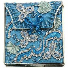 Victorian Purse Compact Mirror...Does this come in Large and In Charge ???