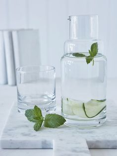 Glass Carafe and Tumbler Set - Nordic House