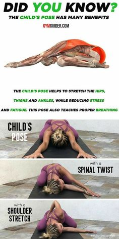 Exercise Fitness, Fitness Workouts, Gym Workout Tips, Sport Fitness, Health Fitness, Yoga Positionen, Yin Yoga, Yoga Flow, Yoga Meditation