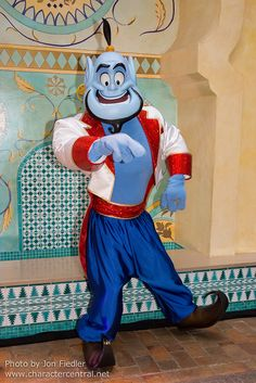 Genie of the lamp from Aladdin