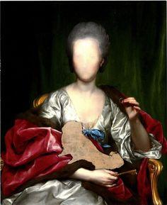 """Anton Raffael Mengs """"Portrait of Mariana de Silva y Sarmiento, Duquesa de Huescar (1740 – 1784) – Unfinished"""""""