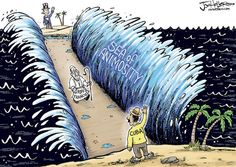 Joe Heller editorial cartoon - The Arlington Catholic Herald