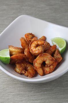 shrimp marinade: 20 shrimp, 2 minced cloves garlic, 1 tbsp brown sugar, 3 tbsp brown sugar, 3 tbsp soy sauce, 1tsp chili powder, juice of 1 lime, 2 tsp olive oil, 1/4 tsp red pepper flakes. wisk and put shrimp in for 15 mins then grill 3 mins per side!