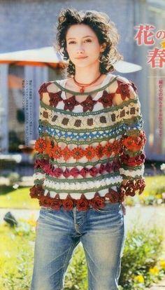 Tejido crochet on pinterest crochet motif crochet stitches and