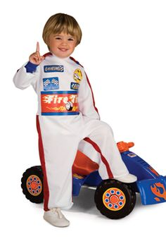 toddler race car driver halloween costume