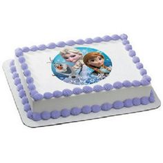 Search Disney Frozen Quarter Sheet Edible Cake Topper and other individualized party supplies. The most popular party supplies and decorations, all available at wholesale prices! Frozen Themed Birthday Cake, Birthday Sheet Cakes, Frozen Theme Party, 3rd Birthday, Birthday Ideas, Halloween Birthday, Birthday Parties, Disney Frozen Olaf, Disney Frozen Party