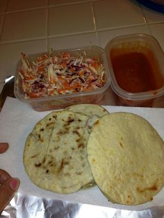 Any one ever tried Pupusas? They are common in El Salvador. They are my favorite food.
