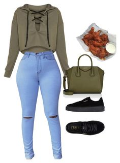"""Untitled #519"" by tdgaaf ❤ liked on Polyvore featuring Givenchy and Puma"