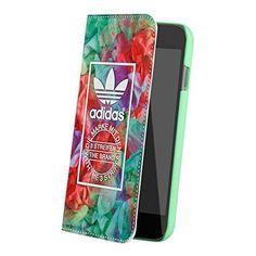 adidas Originals (アディダス オリジナルス) iPhone6/iPhone6s カードポケット付 手帳型ケース 20148 (フローラル)
