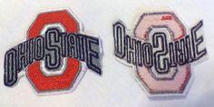 50 Ohio State Buckeyes NCAA Vintage Embroidered Iron On 1987-2012 Logo's #OhioStateBuckeyes